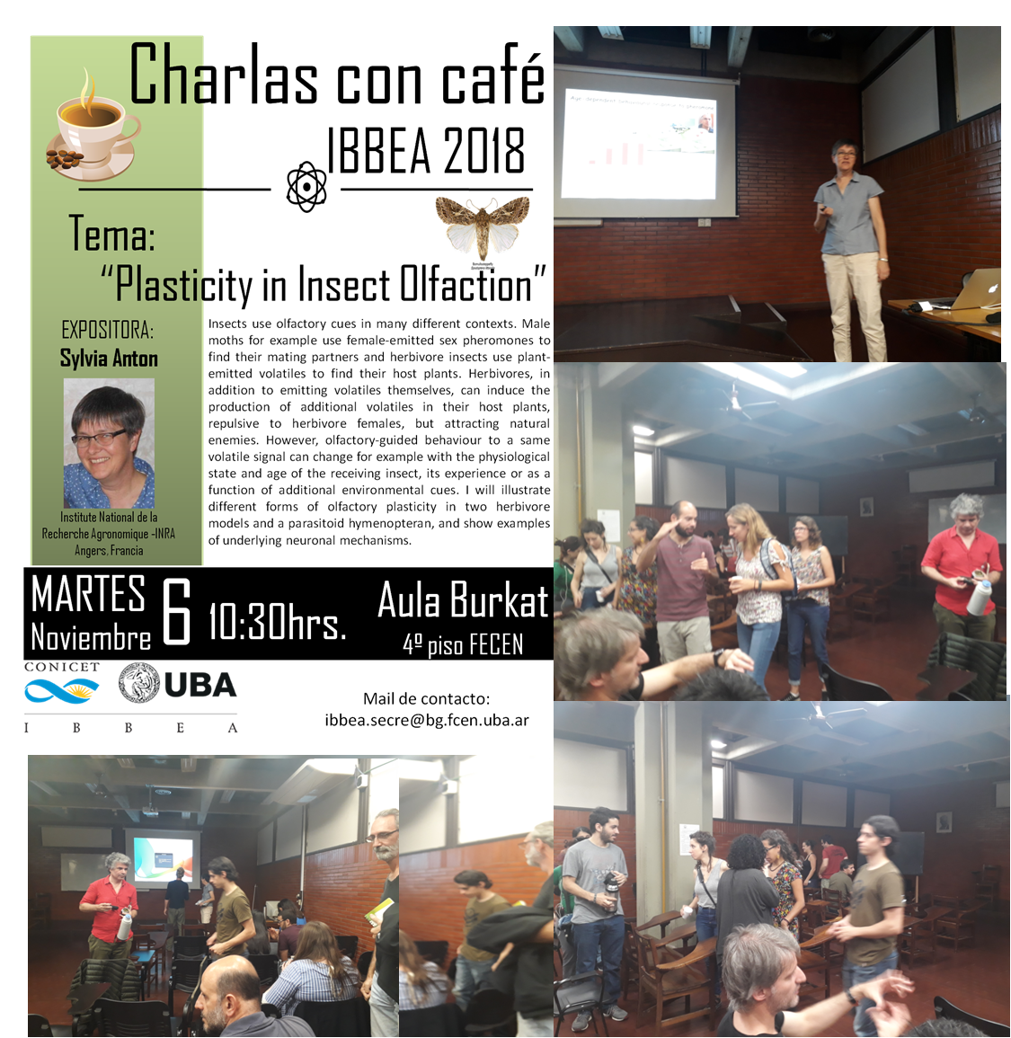 Charlas con Cafe - 2018 Anton