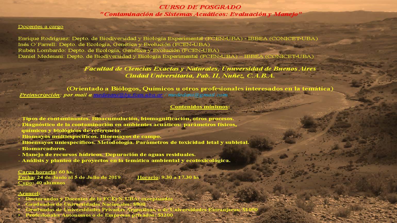 Flyer Curso de Postgrado CSA-EyM 2019