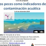 flyer curso contaminacion peces